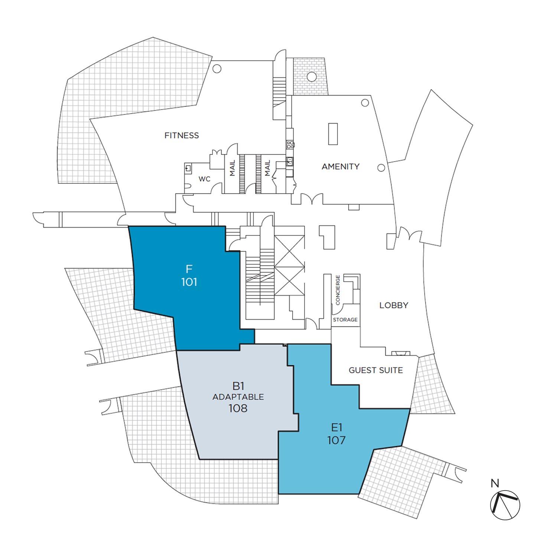 Azure floorplate level 01